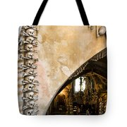 Kutna Hora Bone Church Tote Bag by Joanna Madloch