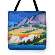 Kvr Railway Bluff Naramata Tote Bag