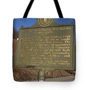 Ky-1995 Joseph Alexander Matthews 1902-1970 Tote Bag
