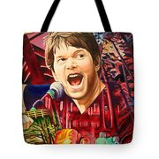 Kyle Hollingsworth At Hornin'gs Hideout Tote Bag