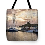 Kyleakin Harbor And Castle Moil Tote Bag