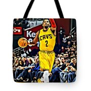 Kyrie Irving Tote Bag by Florian Rodarte