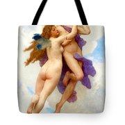 L Amour Et Psych Tote Bag