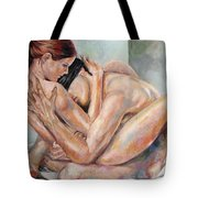 L Amour Tote Bag