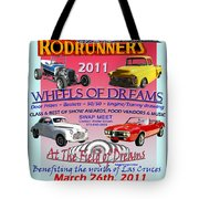 L C Rodrunner Car Show Poster Tote Bag
