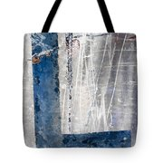 L In The Water Tote Bag by Carol Leigh