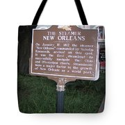 La-001 The Steamer New Orleans Tote Bag