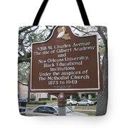 La-005 5318 St. Charles Avenue Tote Bag