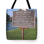 La-010 Pitot House Tote Bag