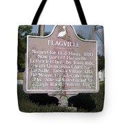 La-021 Flagville Tote Bag