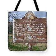 La-022 Home Place Tote Bag
