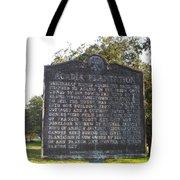 La-038 Acadia Plantation Tote Bag