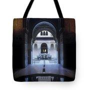 La Alhambra Patio De Los Leones Tote Bag