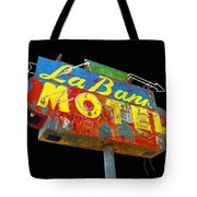 La Bank Motel - Black Tote Bag