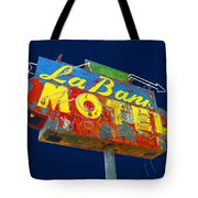 La Bank Motel Tote Bag