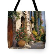 La Bella Strada Tote Bag by Guido Borelli