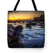 La Caleta Beach Cadiz Spain Tote Bag