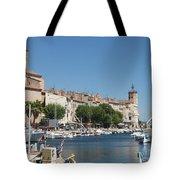 La Ciotat Harbor Tote Bag