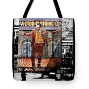 La City Beat Digitized Tote Bag