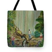 La Coco Falls El Yunque Rain Forest Puerto Rico Tote Bag