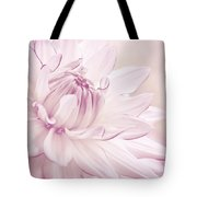 La Dahlia Tote Bag by Angela Doelling AD DESIGN Photo and PhotoArt