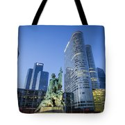 La Defense Memorial Tote Bag