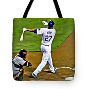 La Dodgers Matt Kemp Tote Bag