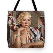 La Femmeen Soiehi  Tote Bag