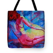 La Fille Rose Tote Bag