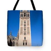 La Giralda Bell Tower In Seville Tote Bag