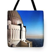 La Griffith Observatory Afternoon Tote Bag