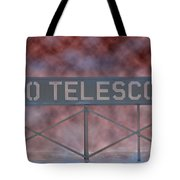La Griffith Observatory To Telescope Tote Bag