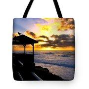 La Jolla At Sunset By Diana Sainz Tote Bag by Diana Sainz