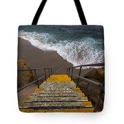 La Jolla Stairs 2 Tote Bag