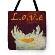 La Marguerite - Love Red Wine  Tote Bag