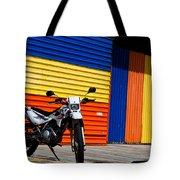 La Motocicleta Tote Bag