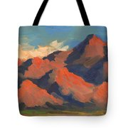 La Quinta Mountains Morning Tote Bag