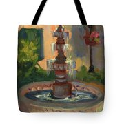 La Quinta Resort Fountain Tote Bag