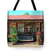 La Rosa Motel Pioneer Town Tote Bag