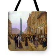 La Rue De La Paix Tote Bag