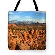 La Sal Landscape Work C Tote Bag