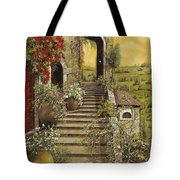 La Scala Grande Tote Bag by Guido Borelli