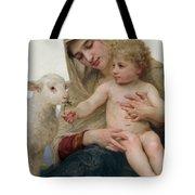 La Vierge A Lagneau Tote Bag