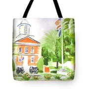 Labor Day Morning  Tote Bag