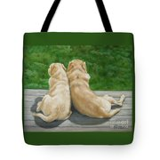 Labrador Lazy Afternoon Tote Bag