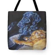 Labrador Love Tote Bag