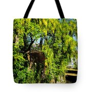 Laburnum By The River Tote Bag