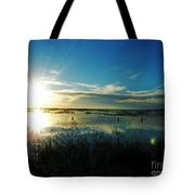 Lacassine Afternoon Sparkle Tote Bag