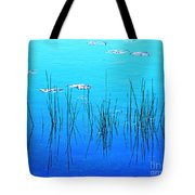 Lacassine Pool Reeds Tote Bag