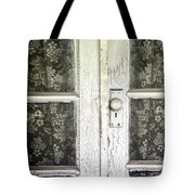 Lace Curtains Tote Bag